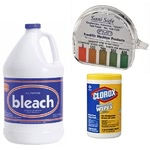 Sanitizer, Disinfectant & Testing Supplies