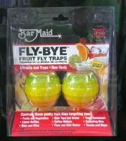 Glass Pro Products Fly Bye Flytrap Fly Bye Fruit Fly Trap 2 Pk